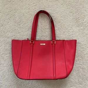 Kate Spade Cobble Hill Large Tote Bag Red